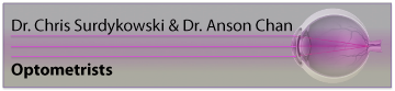 Dr. Chris Surdykowski and Dr. Anson Chan Optometrists